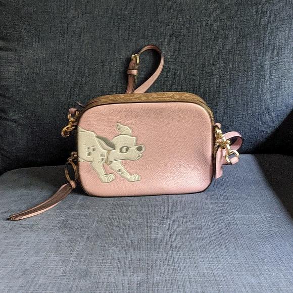 Disney X Coach Camera Bag with Dalmatian - NWT
